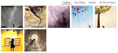 CaileyB Redbubble Silhouette Girl Collection