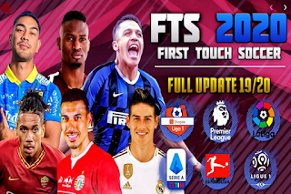 Download Game Android FTS 2020 Update Liga Indonesia & Eropa 2019/2020