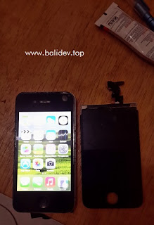 Cara Mengganti LCD dan Touchscreen iPhone 4 GSM/CDMA