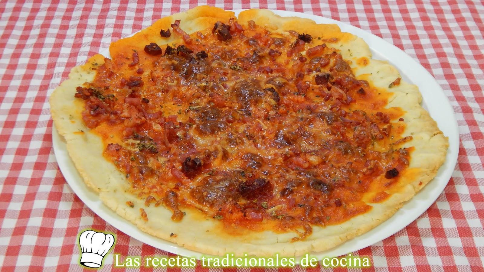 Receta Fácil Y Rápida De Pizza Sin Gluten Muy Crujiente Y Con Masa Casera
