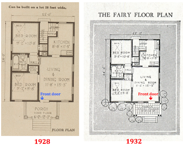 comparison of sears fairy floorplans