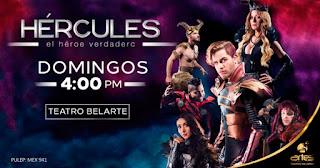 POS1 HERCULES Teatro Belarte Bogota