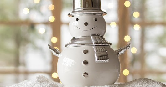 Snowman Pattern Home Decor