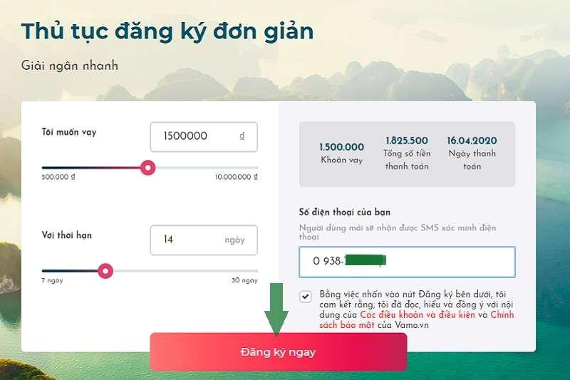 Vamo: Cho vay tiền nhanh online từ 1-10 triệu chỉ với CMND