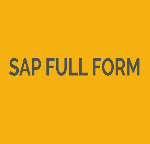 SAP full form: Systems, Applications & Products