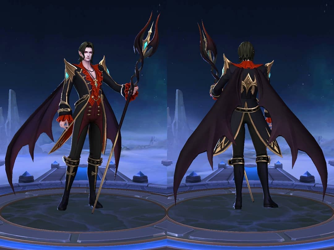 Si Vampir Cecilion Hero Baru Mobile Legends