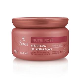 Resenha mascara nutri rose eudora dicas da tia