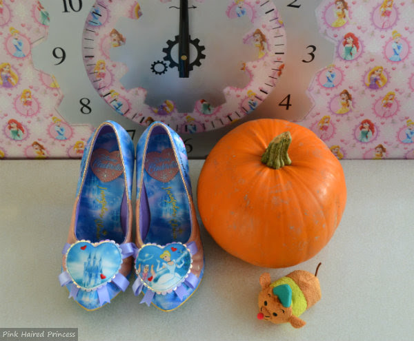 irregular choice disney cinderella blue shoes