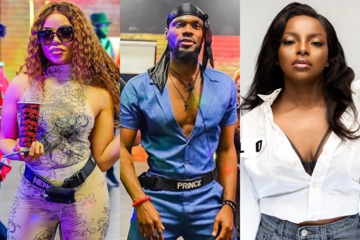 Make Your Relationship With Nengi Open, You're Causing Tension Here – Wathoni Urges Prince (See Video)