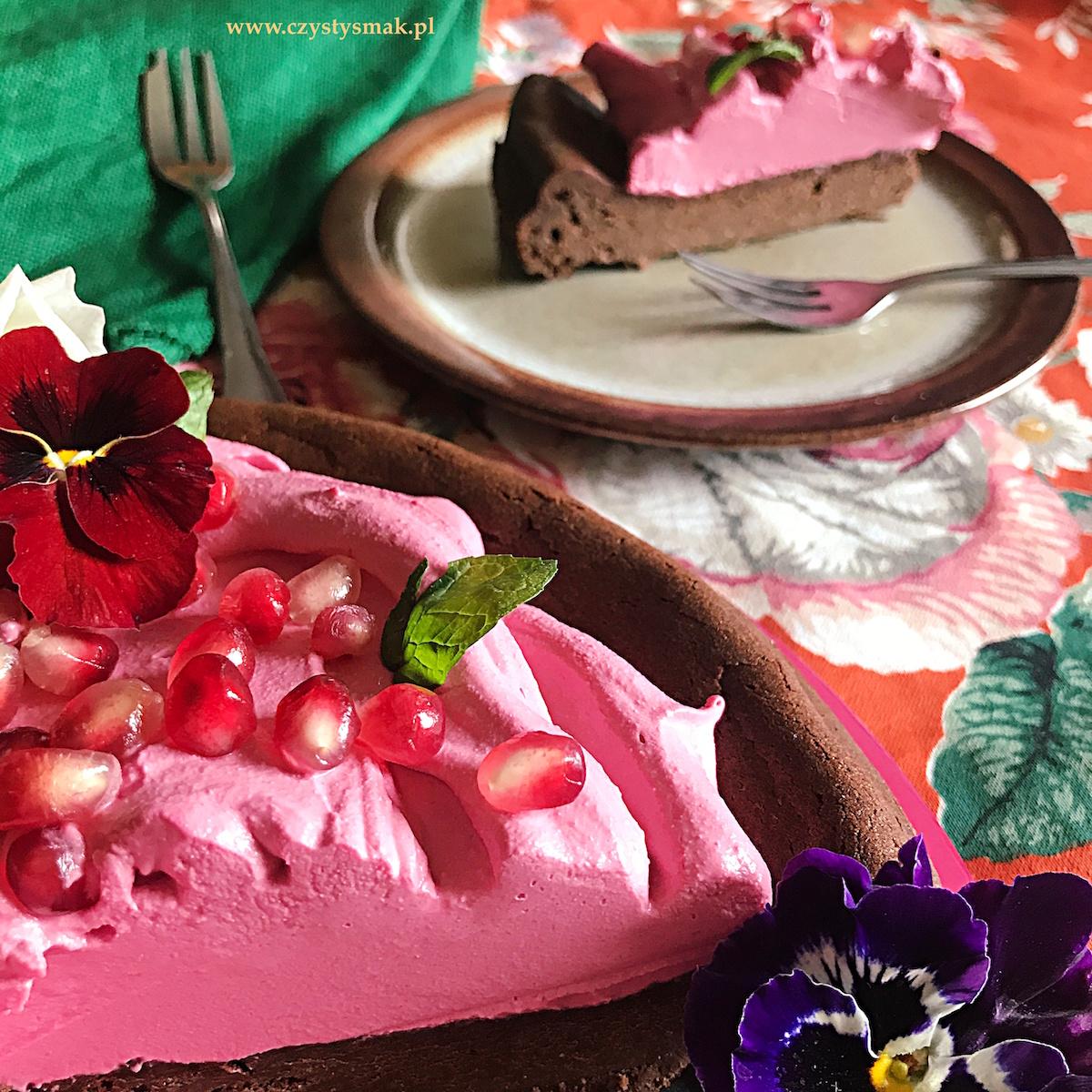 Różowa chmurka bez sztucznych barwników