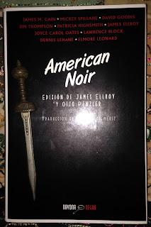 Portada del libro American Noir, de varios autores