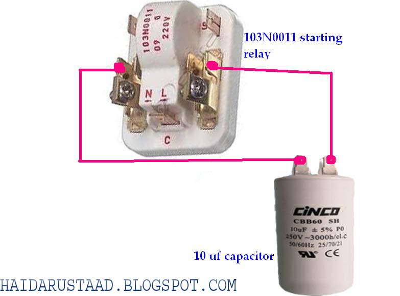 Danfoss Refrigerator Start Relay Wiring Diagram | Find image on