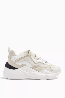 CANCUN Ecru Chunky Trainers