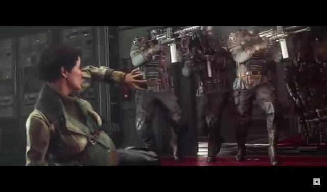 Third screenshot from Wolfenstein II: The New Colossus launch trailer
