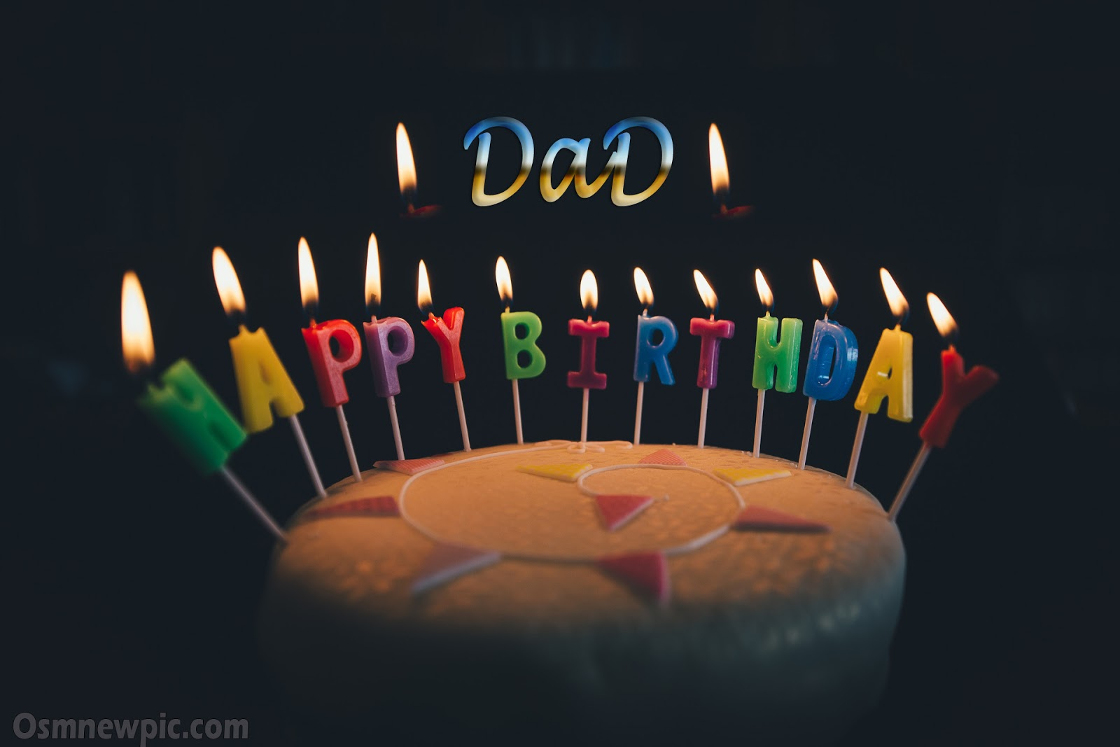 Happy Birthday Wishes Dad Images