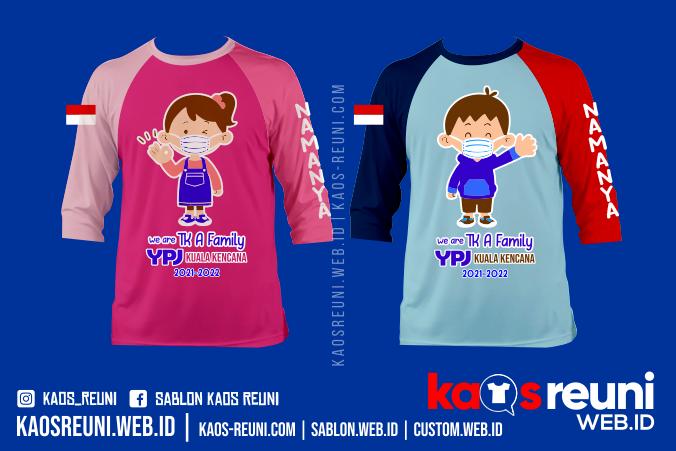 Sablon Kaos Anak TK Big Family - Kaos Keluarga Besar Taman Kanak Kanak