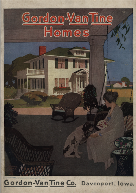 gordon van tine homes catalog cover 1921