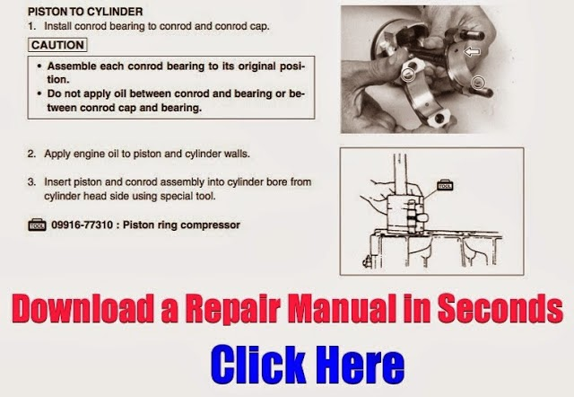DOWNLOAD PERSONAL WATERCRAFT REPAIR MANUALS