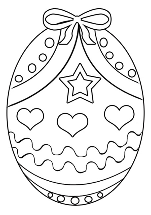 Happy Easter Eggs Clipart Coloring Pages Designs And Templates