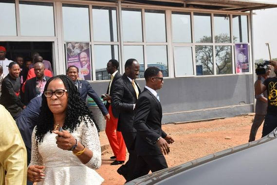 Apostle Suleman questioned and released by DSS (photo)