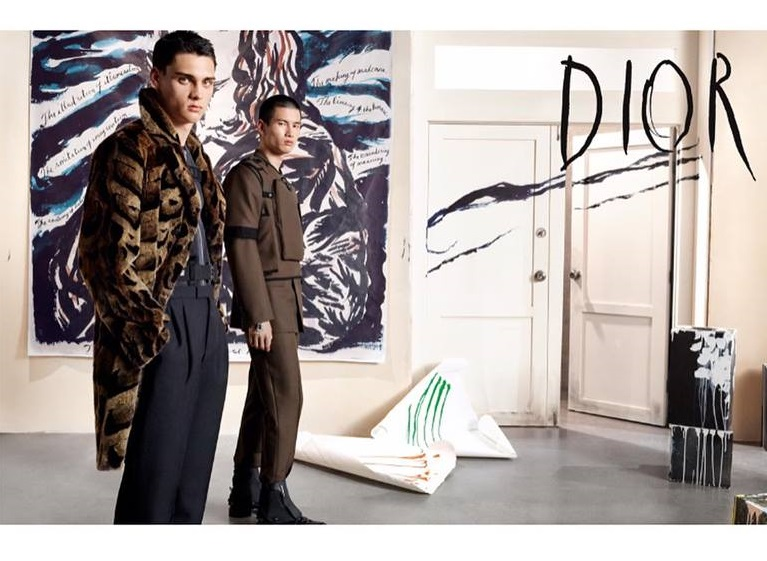 Christian Dior Menswear Fall Winter 2019 Ad Campaign