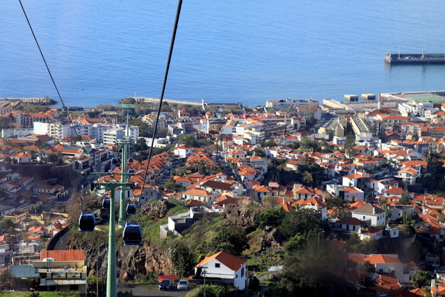 Funchal widok na miasto