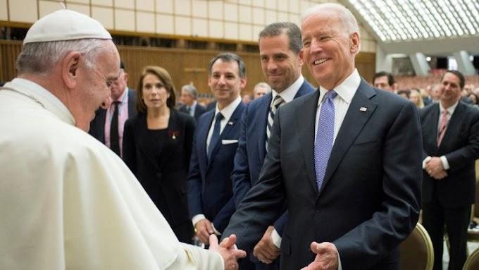 Ferenc pápa egyből az eskütétele után nyílt levélben gratulált Joe Bidennek
