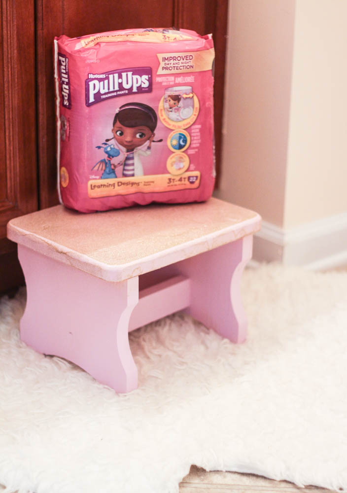Potty Training with Pull-Ups
