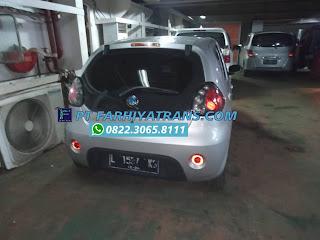 Kirim mobil Geely Panda dari Surabaya tujuan ke Martapura, kabupaten Banjar Kalimantan Selatan dengan kapal roro dan driving melalui Pelabuhan Trisakti Banjarmasin, estimasi pengiriman 2 hari.