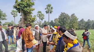 विधायक पटेल ने विभिन्न ग्रामो में 32 लाख रूपए से अधिक लागत से विद्युत डीपीयो का ग्रामीणों से करवाया शुभारंभ