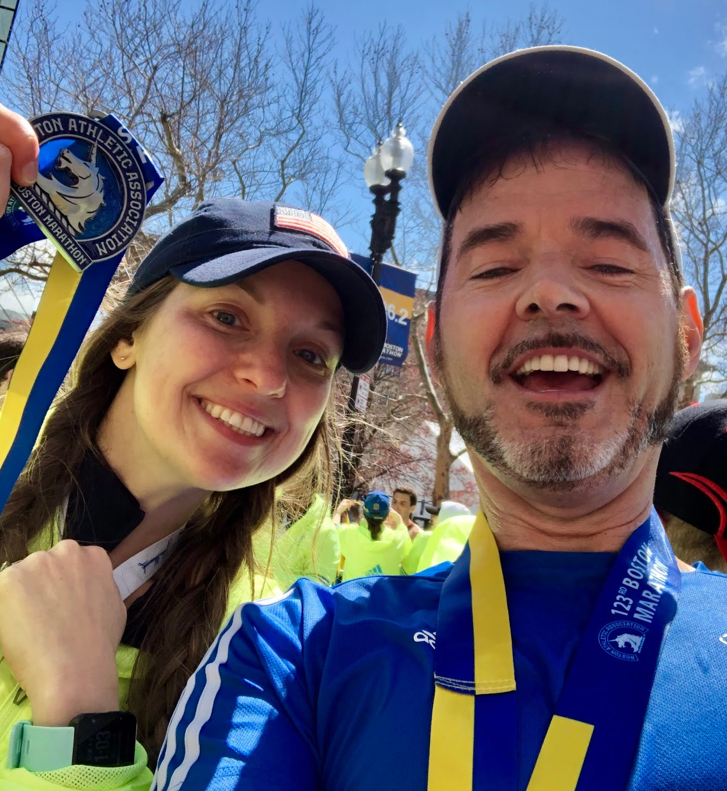 A Trail Runner's Blog: Boston XV - A Fountain of Inspiration