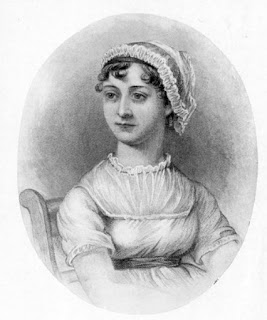 Jane Austen from A Memoir of Jane Austen  by JE Austen Leigh (2nd edn 1871)