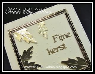 Close-up om de gouden glans van het frame en de blaadjes te laten zien. Close-up to show the golden sheen of the frame and petals.