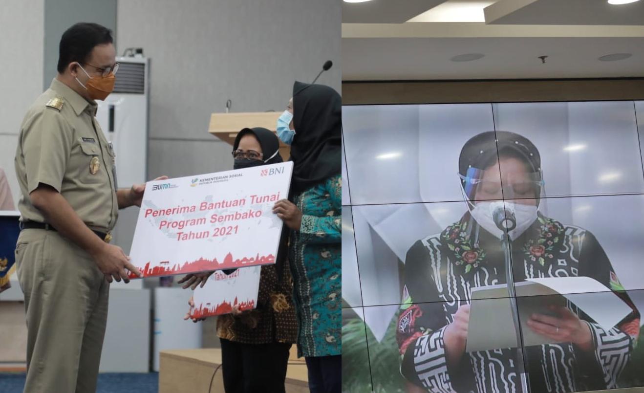Cara Halus Anies Singgung Risma yang Kerap Blusukan di Jakarta
