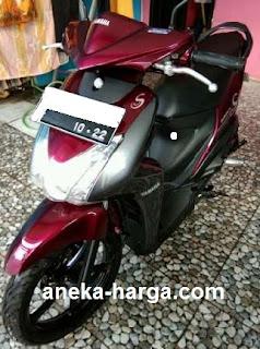harga pasaran motor yamaha Mio S bekas lengkap