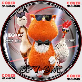 GALLETA SPY CAT 2019[COVER DVD]