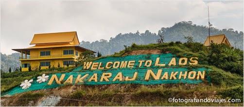frontera de Chiang Klong a Huay Xay de Tailandia a Laos
