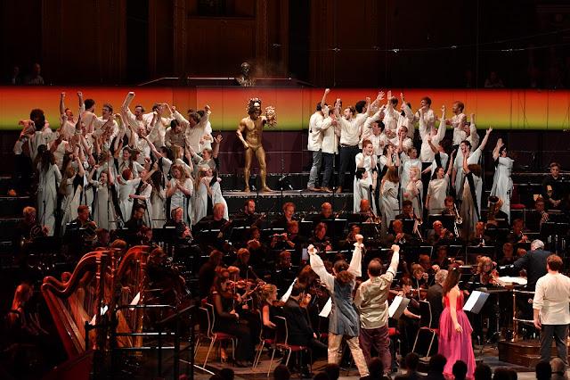 Berlioz: Benvenuto Cellini - - BBC Proms (Photo BBC / Chris Christodoulou)