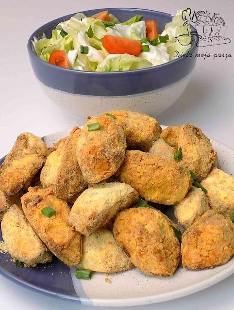 Ziemniaki pieczone w mące