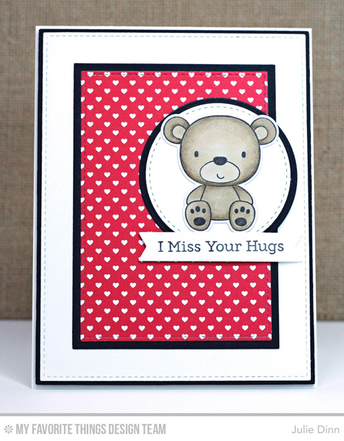 Handmade card from Julie Dinn featuring products from My Favorite Things #mfstamps
