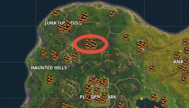 fortnite loot map