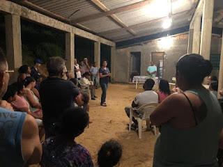 Após reunião da Associação de Bairro com Sandra Kennedy,  são anunciadas melhorias na coleta de lixo e prioridade no saneamento básico para o Jardim Vitória
