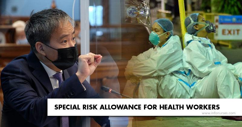 Senator Villanueva on SRA and hazard pay in 2020 budget.