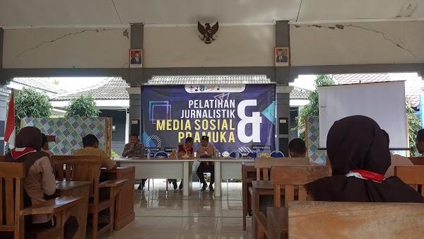 MAN 3 Bojonegoro Mengikuti Pelatihan Jurnalistik dan Media Sosial Pramuka