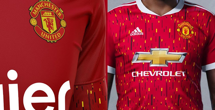 How The Manchester United 20 21 Home Kit Could Look Like Based On Leaked Info Footy Headlines