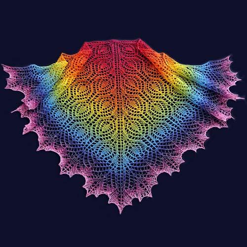 Serpuha Shawl - Free Pattern