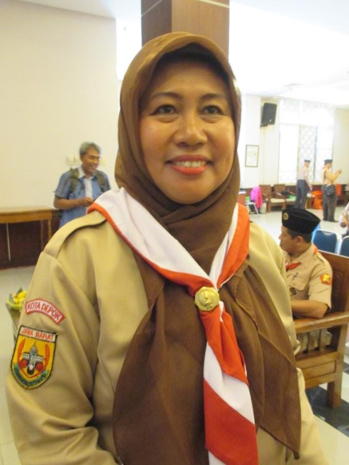 Kak Nina Suzana Lanjutkan Pimpin Kwarcab Pramuka Depok