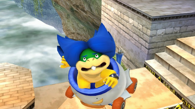 Ludwig Von Koopa scared terrified worried Super Smash Bros.