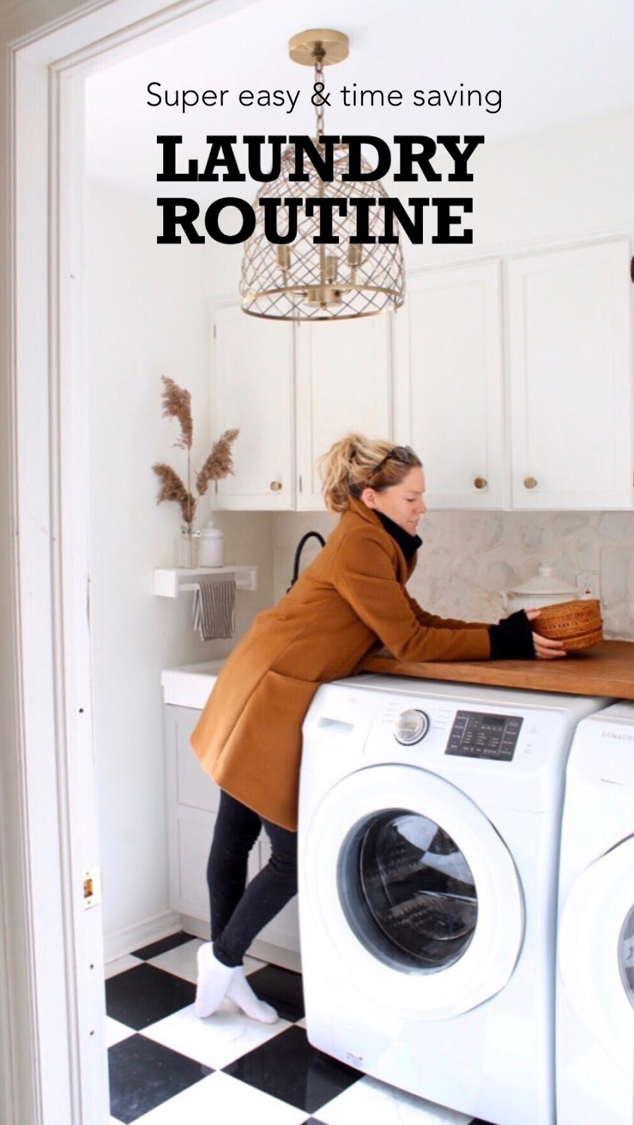 Laundry Routine that is Simple and Easy