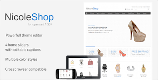 Nicole Shop - Online Store Responsive Blogger Template